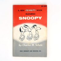 A New Peanuts Book Featuring Snoopy