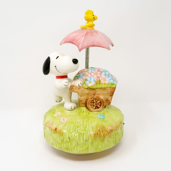 Snoopy Flower Cart Musical