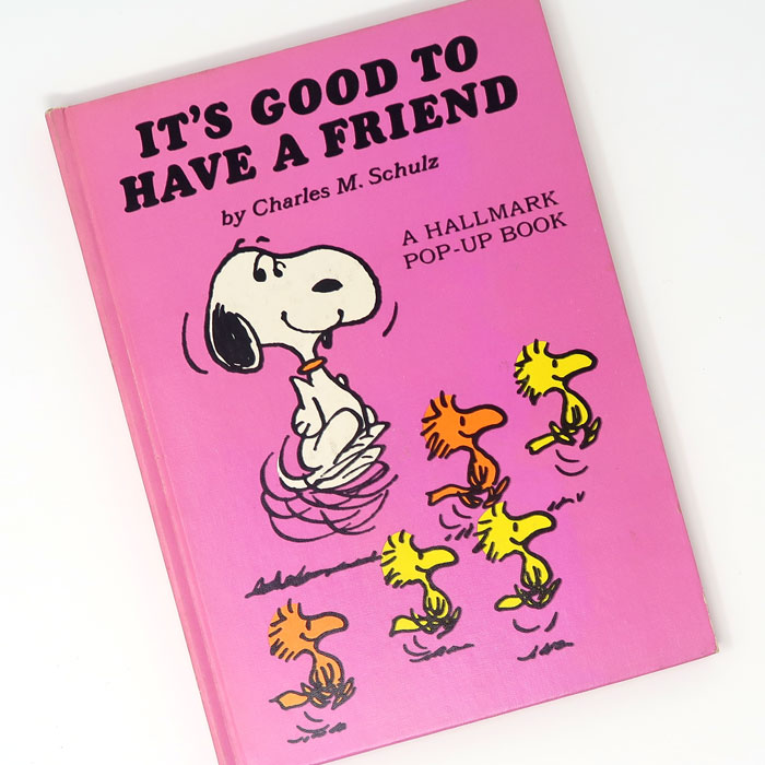 """It's Good to Have a Friend"" Peanuts Pop-up Book"