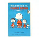 We're Right Behind You, Charlie Brown Peanuts Book