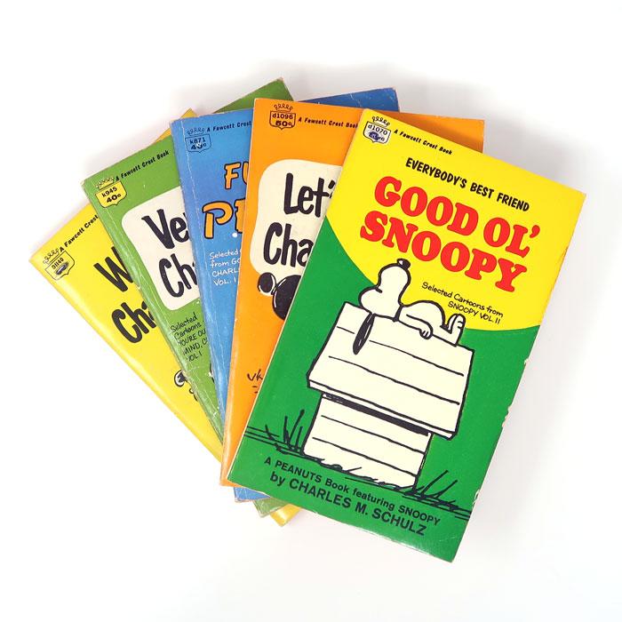 Fawcett Crest Peanuts Books