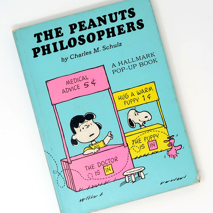 The Peanuts Philosophers Pop-up Book