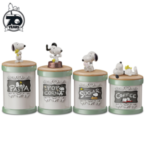 Snoopy Kitchen Canisters
