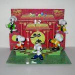 Snoopy Kung-fu Hustle Figurine set