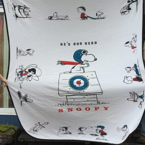 Hero Snoopy Bed Spread
