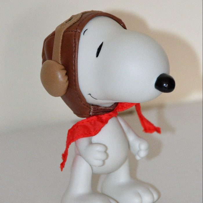 Flying Ace Snoopy Jointed Figurine