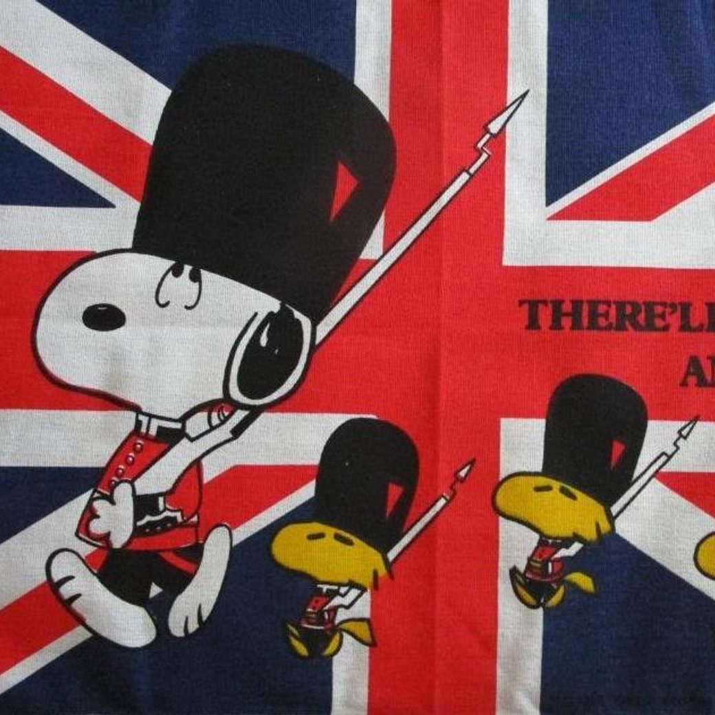 Snoopy British Flag