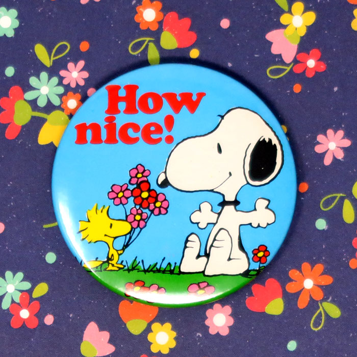 Snoopy's Spring Flowers