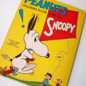 Snoopy Artcraft Coloring Book