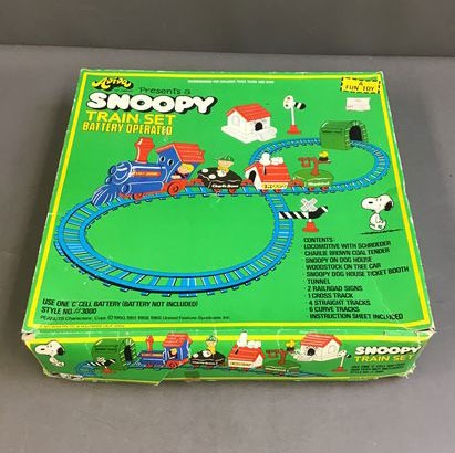 Aviva Snoopy Train Set