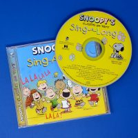 Snoopy's Sing-a-long Music CD