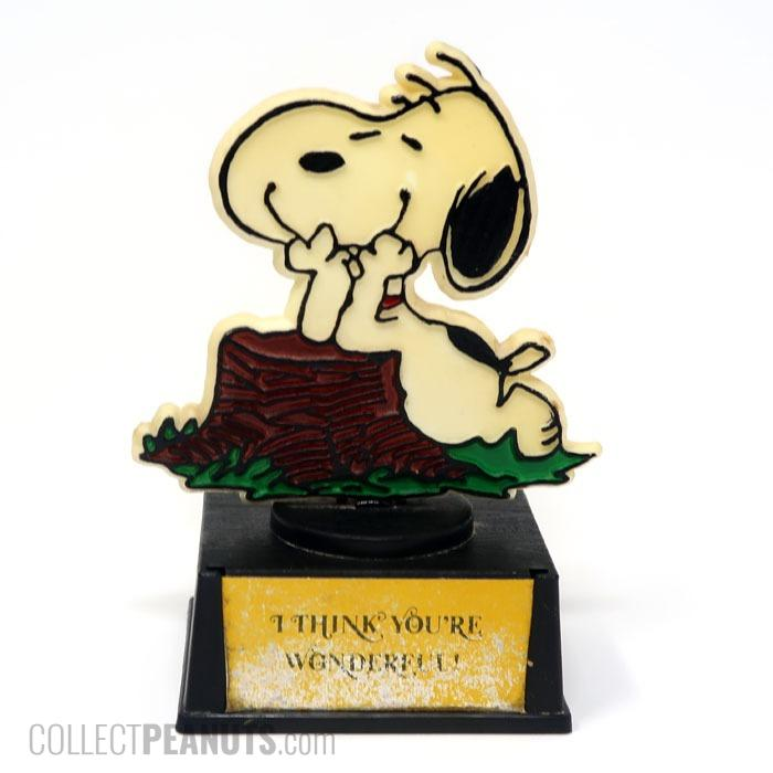 An Aviva Trophy. A perfect candidate for a replacement plaque.