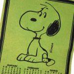 Snoopy Calendar Pennant