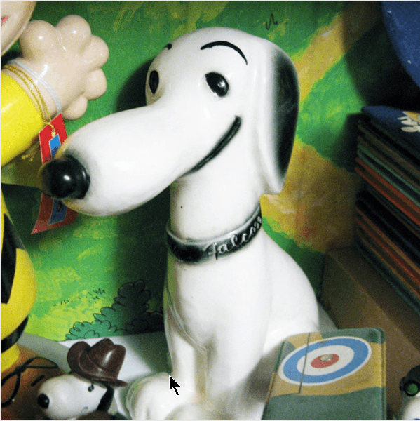 Hungerford-Type Snoopy Ford Falcon Ceramic Bank