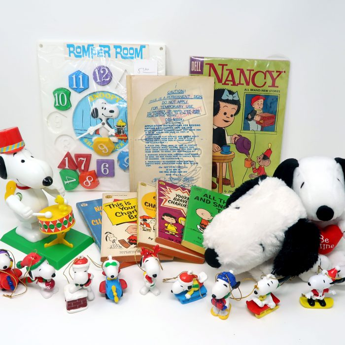 Snoopy's Flea Market Friends