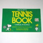 Snoopy Tennis Book