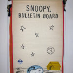 Snoopy Astronaut on the Moon Bulletin Board