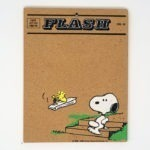 Woodstock delivering newspaper to Snoopy Cork Board