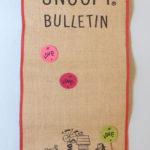 Peanuts Love Bulletin Board
