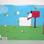 Snoopy in Mailbox with Woodstock Mailing Box