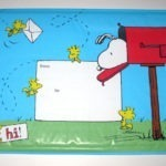Snoopy in Mailbox with Woodstock Mailing Envelope
