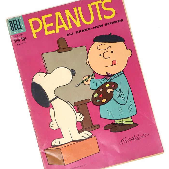 1959 Dell Peanuts Comic #1015