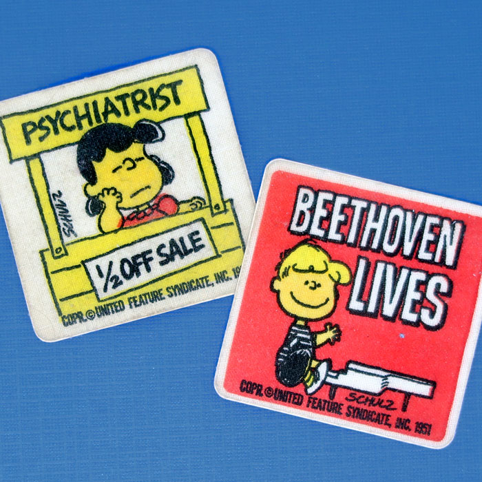 Peanuts Vintage Patches
