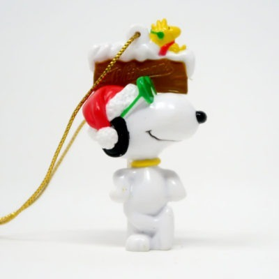 Snoopy Joe Cool Standing by Sign Ornament