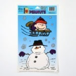 Rerun Sledding with Snowman Window Cling Sheet