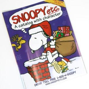 Snoopy Etc. Catalog - Christmas 2001