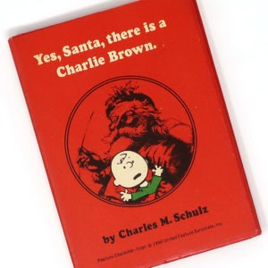 Yes, Santa, there is a Charlie Brown - Peanuts Christmas Book