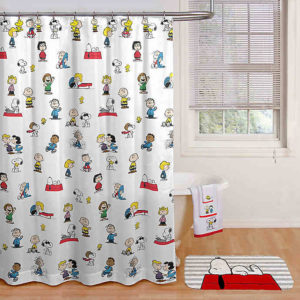 Snoopy Shower Curtains