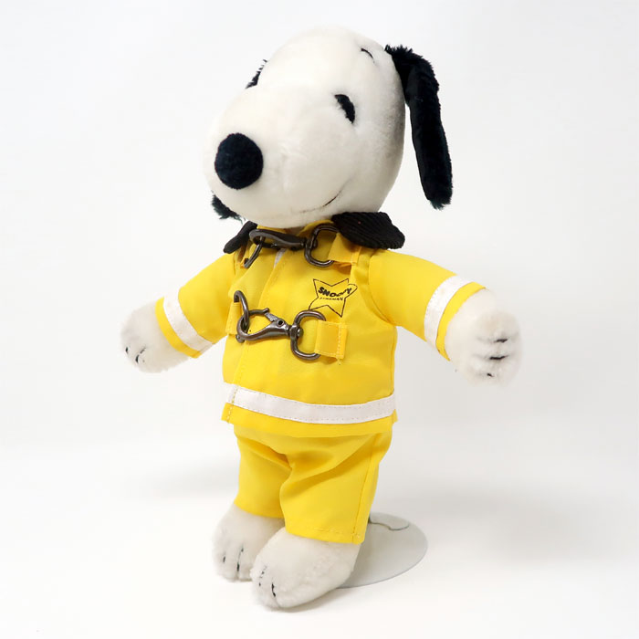Snoopy's Wardrobe - Snoopy Firefighter
