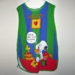 Snoopy and Woodstock Craft Apron