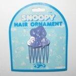 Snoopy hugging Woodstock Hair Pick