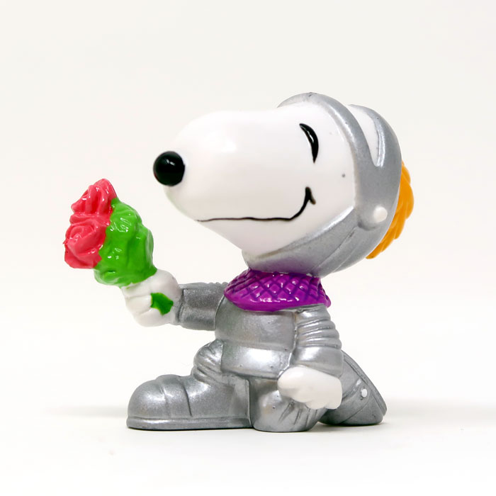 Snoopy Knight in Shining Armor Valentine's Day Figurine