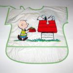 Snoopy and Charlie Brown Vinyl Smock