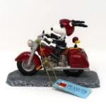Snoopy Joe Cool & Woodstock Motorcycle Figurine