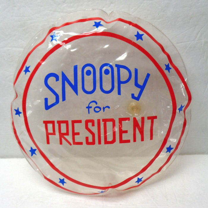Snoopy for President Inflatable Pillow