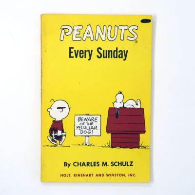Peanuts Every Sunday Book