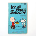 It's All Yours, Snoopy Book
