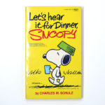 Let's Hear It for Dinner, Snoopy Book