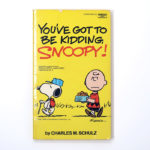 You've Got to Be Kidding, Snoopy Book