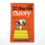 It's Show Time, Snoopy Book