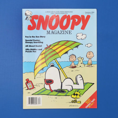 Snoopy Magazine - Snoopy Summer Activities