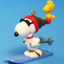 Peanuts Skiing Collectibles