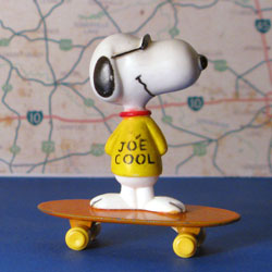 Peanuts Skateboarding Collectibles