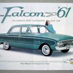 1961 Ford Falcon Tri-Fold Flyer