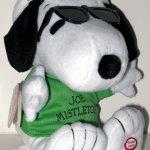 Christmas Snoopy Joe Mistletoe Plush