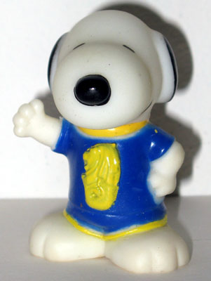 Singapore Snoopy World Tour Series 1 Toy